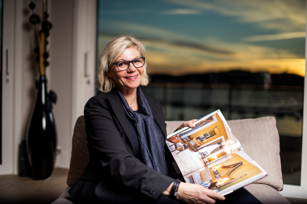 Gardinexperten Siri Christine Sandberg, Arendal